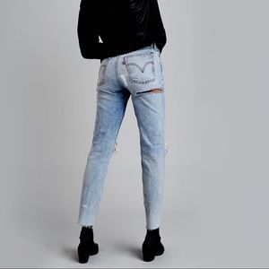 Levi's X Rolling Stone Wedgie Fit Jeans